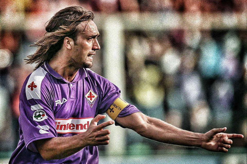 Batistuta sang Legenda Fiorentina