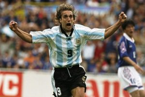 Kesuksesan Batistuta bersama timnas Argentina