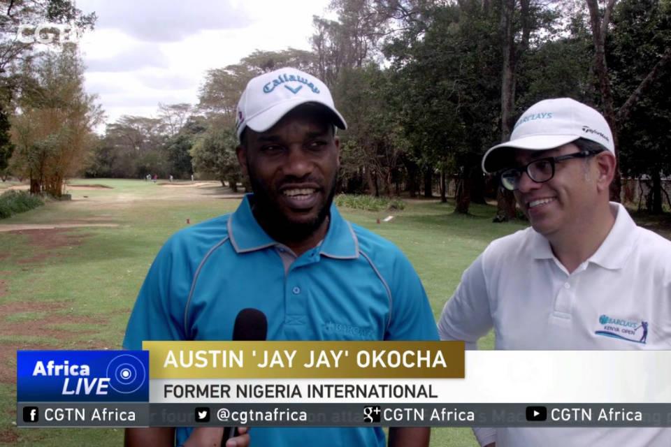 Okocha sebut golf baik untuk kesehatan jantung